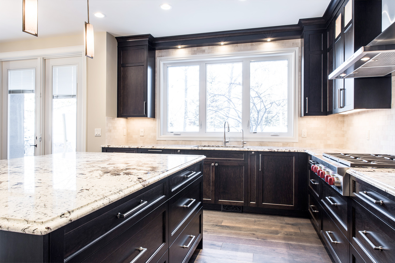 Pinnacle Custom Cabinet - Kitchen