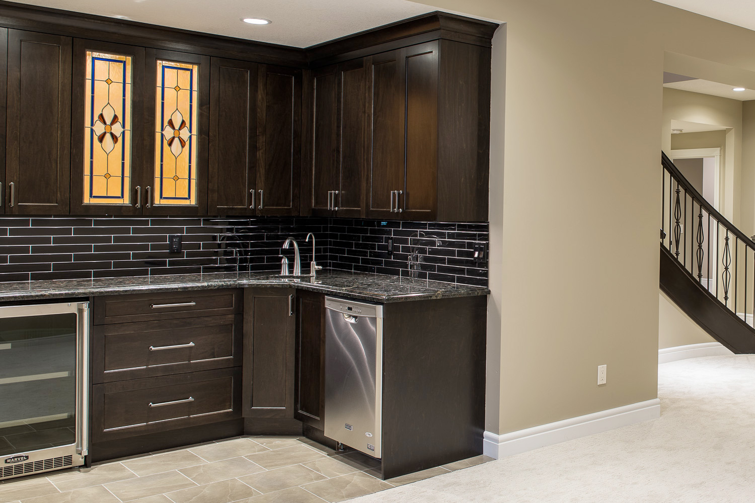 Basement1 archives pinnacle custom cabinets for A 1 custom cabinets